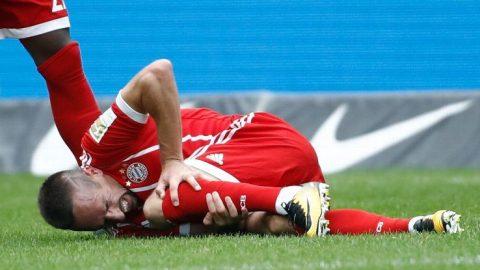 XÁC NHẬN: Chấn thương nặng, Ribery rời xa sân cỏ trong 3 tháng