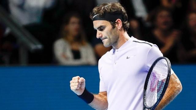 Thoát hiểm thành công trước đàn em, Federer nhọc nhằn tiến vào Bán kết Basel Open