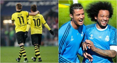 10 tình bạn đẹp như mơ trong thế giới bóng đá khiến triệu fan ngưỡng mộ