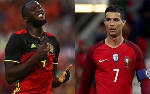 """TOP 8 """"máy dội bom"""" siêu hạng tại vòng loại World Cup 2018: Ronaldo, Lukaku chào thua chân sút vô danh"""