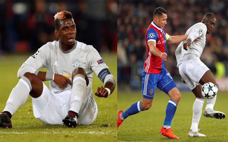 """5 điểm nhấn sau trận thua sốc của M.U trước Basel: Pogba đáng thương, Lukaku đáng """"bị trảm"""""""