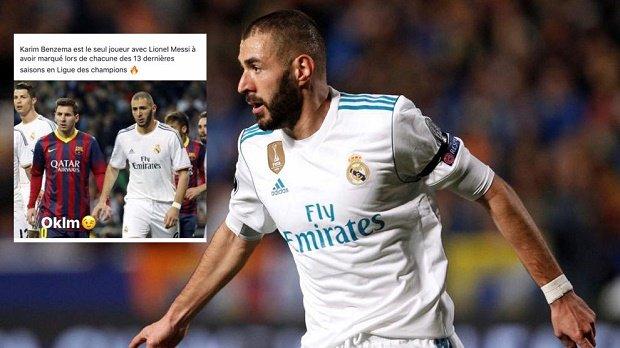 Bỏ xa Ronaldo để sánh vai cùng Messi, Benzema lập nên kỳ tích chưa từng huyền thoại nào làm được tại Champions League