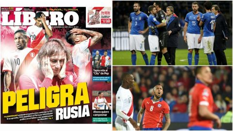 Không phải Italy hay Hà Lan, đây mới là 2 đội tuyển có thể thế chỗ Peru dự World Cup 2018?