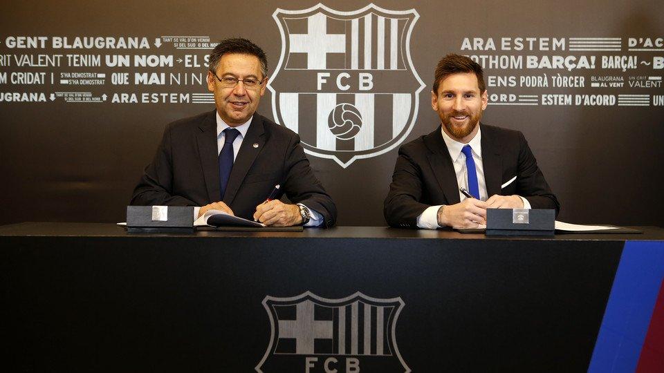CỰC NÓNG: Messi CHÍNH THỨC ký mới với Barca, hưởng lương cao nhất thế giới