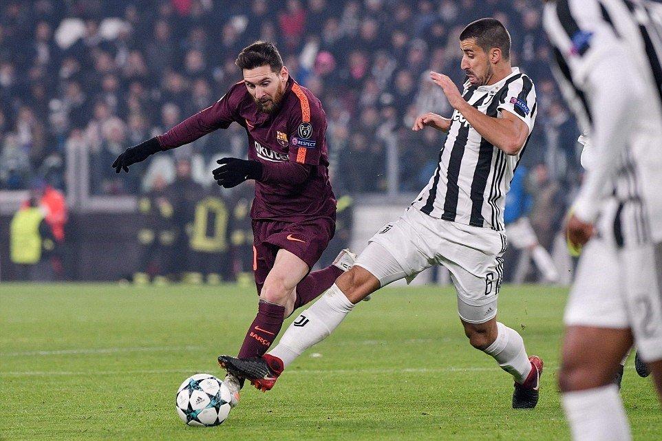 Đôi công rực lửa, Juventus và Barca tạo ra thế trận nghẹt thở tới phút cuối