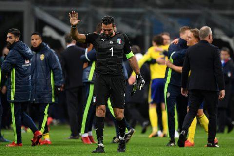 """Thế giới bóng đá chia sẻ nỗi buồn với """"Lão tướng"""" Buffon"""
