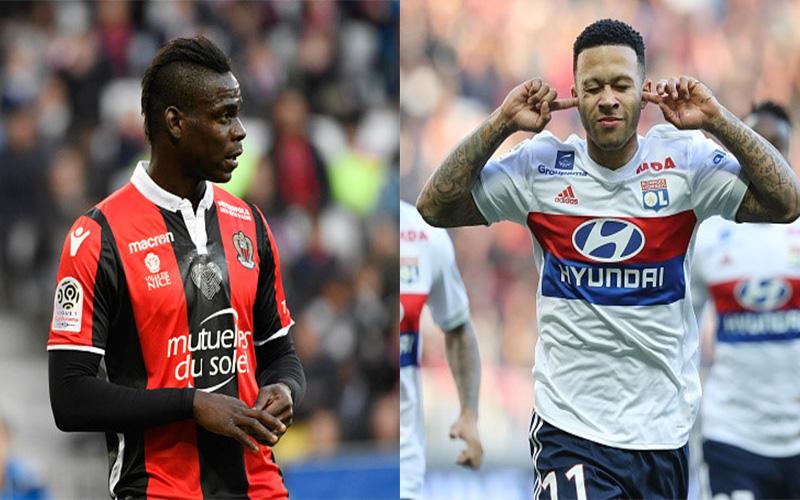 """CHÙM ẢNH: """"Sao xịt"""" M.U lại rực sáng không tưởng giúp Lyon nhấn chìm đội bóng của Balotelli"""