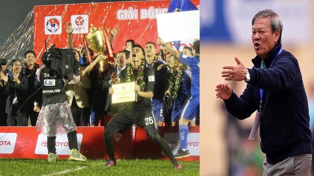 HLV Lê Thụy Hải thẳng thừng chê bai V-League 2017 không ra gì