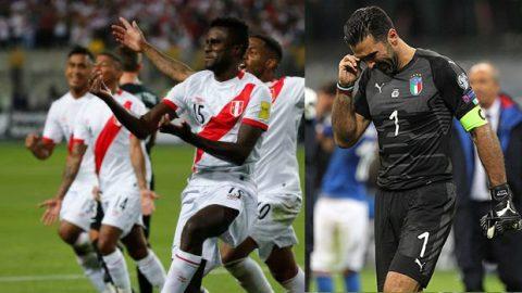 XÁC NHẬN: Peru vẫn sẽ tham dự World Cup, Italia một lần nữa tan giấc mộng đến Nga