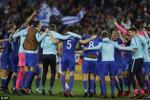 Thủ hòa Hy Lạp, Croatia chính thức có vé dự World Cup 2018