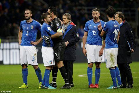 Mất vé dự World Cup trong tủi hổ, Buffon và hàng loạt trụ cột tuyên bố giã từ ĐT Italy trong nước mắt