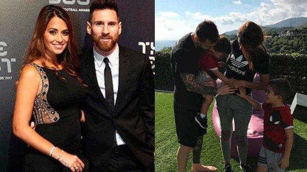 Vợ đăng ảnh bầu bí, Messi sắp đón thành viên thứ 5