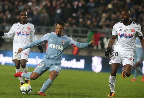 Tân binh tỏa sáng giúp Monaco giành lại 1 điểm hú vía trên sân của nhược tiểu Amiens