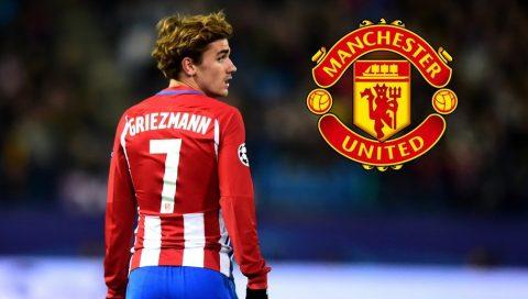 Man Utd bị nẫng tay trên thương vụ Griezmann