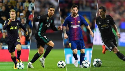 TOP 11 ngôi sao cày ải nhiều nhất Champions League: Ronaldo, Messi chào thua sao lạ