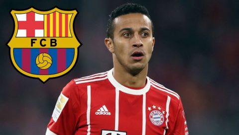 Thiago bất ngờ bóng gió khả năng trở lại Barca thi đấu