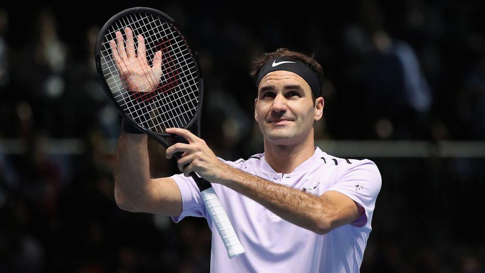 Thắng dễ Jack Sock ngày mở màn, Roger Federer cán mốc 50 trận thắng tại ATP Finals