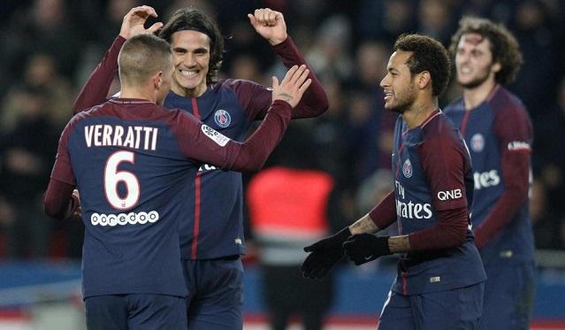 Neymar sát cánh Cavani, PSG hủy diệt Nantes, tiếp tục thống trị Ligue 1