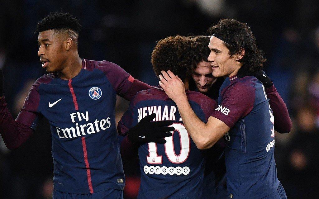 Vòng 15 Ligue 1: Song sát Cavani – Neymar tiếp tục hủy diệt cả giải đấu; Monaco và Lyon bất ngờ sảy chân