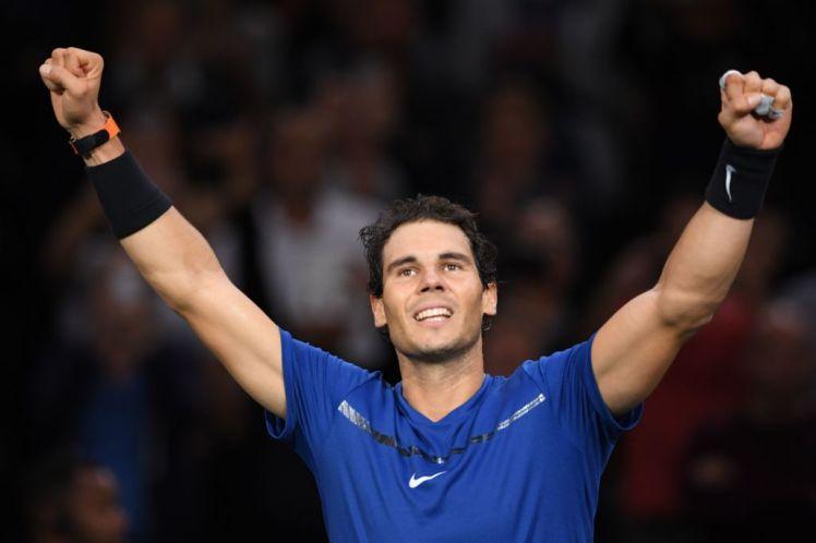 Thắng dễ trận mở màn Paris Masters, Nadal đảm bảo ngôi vị số 1 TG tới hết năm