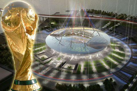 """Chủ nhà Nga cho ra mắt sân vận động """"dị"""" nhất Thế giới phục vụ cho World Cup 2018"""