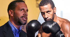 CHÙM ẢNH: Huyền thoại M.U Rio Ferdinand cật lực tập luyện để thi đấu boxing chuyên nghiệp