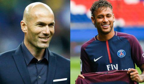 HLV Zidane CHÍNH THỨC lên tiếng về tin đồn Neymar sắp gia nhập Real