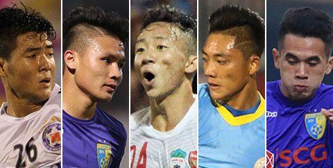 TOP 5 sao trẻ tỏa sáng rực rỡ ở V-League 2017