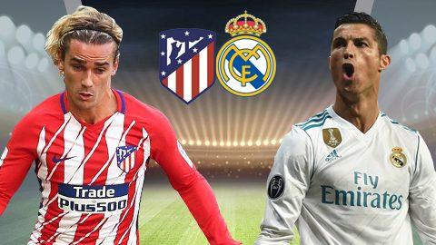 Atletico Madrid vs Real Madrid, 02h45 ngày 19/11: Trận derby sinh tử