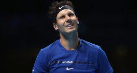 Nadal ngậm ngùi rút lui khỏi ATP Finals sau trận thua sốc trước David Goffin