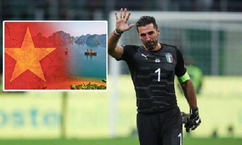 """Lỡ hẹn với World Cup 2018, """"huyền thoại"""" Buffon bất ngờ mua vé đến Việt Nam giải sầu"""