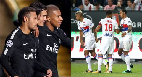 Những 'mũi đinh ba' hay nhất châu Âu từ đầu mùa: Sự trỗi dậy của Ligue 1
