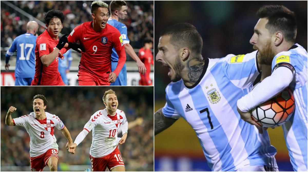 Xác định 30/32 đội bóng đã đoạt vé dự VCK World Cup 2018: Đã xong khu vực châu Âu