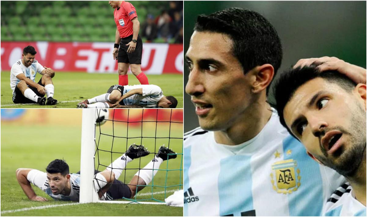 SỐC: Aguero ngất xỉu trong phòng thay đồ giữa trận giao hữu với Nigeria