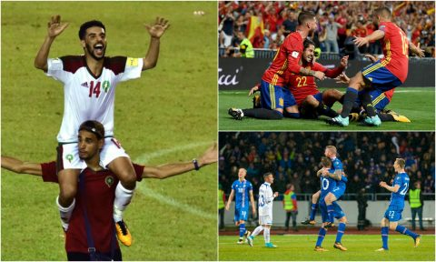 7 đội bóng khiến cả thế giới phải rùng mình vì thành tích quá bá đạo tại vòng loại World Cup 2018: Châu Á góp mặt một đại diện
