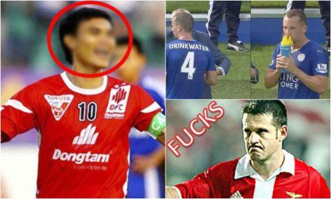 5 cầu thủ có cái tên hài hước nhất thế giới: Việt Nam góp vui một cái tên