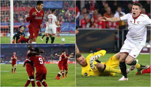 Dẫn trước tới 3 bàn, Liverpool vẫn đánh rơi 3 điểm trước Sevilla vì những sai lầm chết người