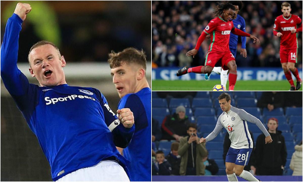 7 điều bạn không thể bỏ lỡ từ loạt trận Premier League đêm qua: Rooney ghi nhiều bàn hơn cả mùa trước, Renato Sanches tưởng biển quảng cáo là đồng đội
