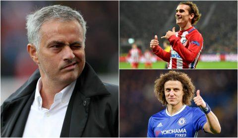TIN ĐỒN CHUYỂN NHƯỢNG: Thành Manchester đại chiến vì Griezmann, David Luiz sắp tái hợp Mourinho