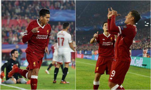 Liverpool chia điểm thất vọng, Firmino vẫn có riêng cho mình kỷ lục mới