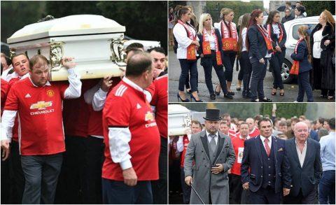 Áo đấu Man Utd ngập tràn đám tang của CĐV đặc biệt