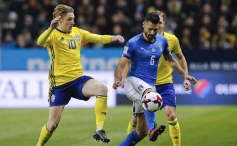 Italia vs Thụy Điển, 02h45 ngày 14/11: Nỗi buồn người La Mã?