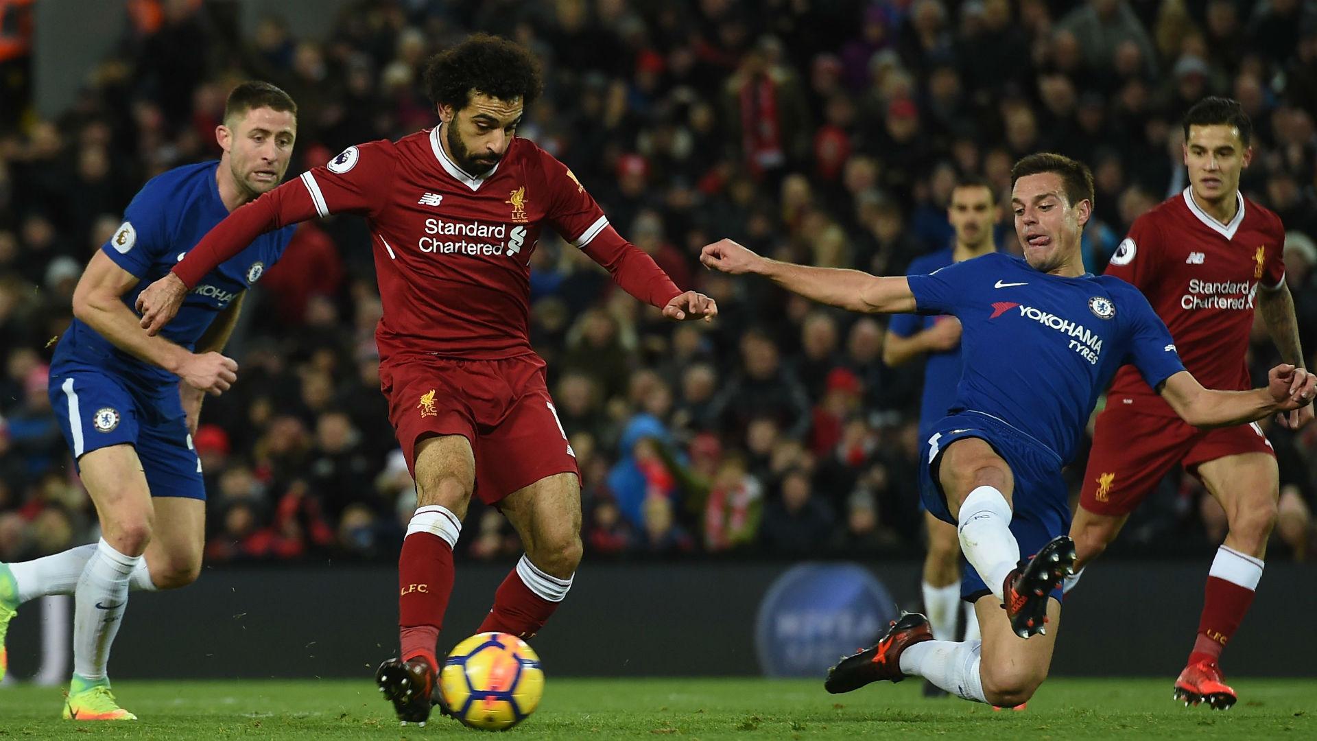 """Đội hình tiêu biểu vòng 13 Ngoại hạng Anh: Thành London phủ bóng, Salah lại """"gánh"""" team"""