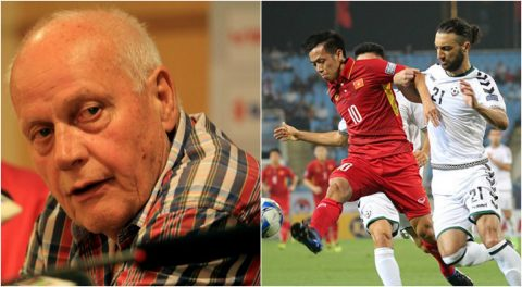 """Sau khi trách Việt Nam """"chơi không đẹp, không xứng đáng đi tiếp"""", HLV Afghanistan có hành động cực bất ngờ"""