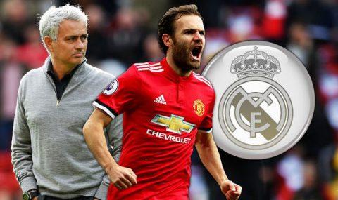 SỐC: Juan Mata sẽ gia nhập Real ngay tháng giêng này?