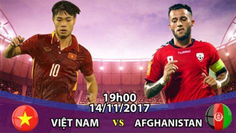 Việt Nam vs Afghanistan, 19h00 ngày 14/11: Chỉ cần 1 trận hòa!