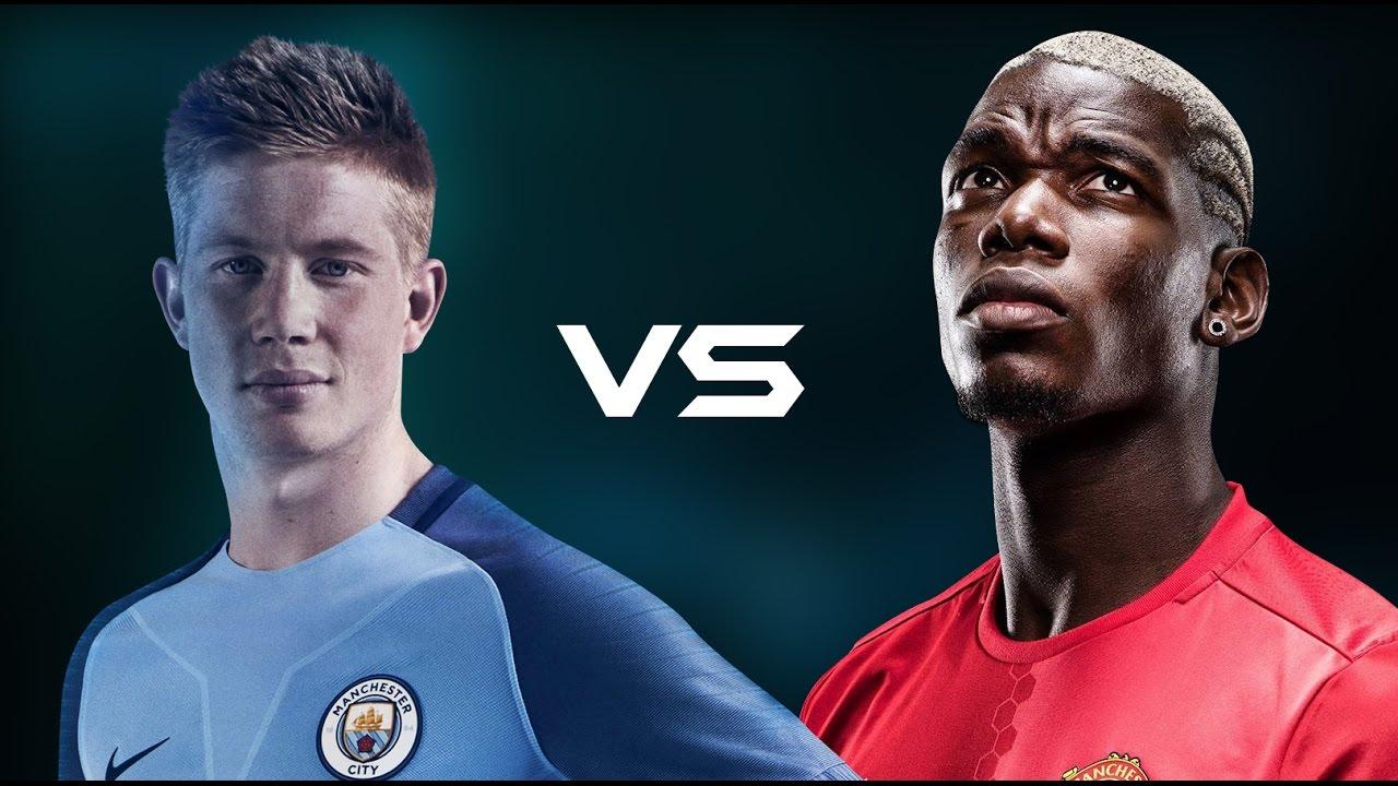 Thành Manchester đại chiến vì ngôi vương: Pogba đấu De Bruyne như Ronaldo – Messi