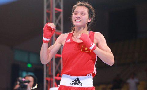 Xuất sắc đánh bại đối thủ Mi Chel Pang, Nguyễn Thị Tâm chính thức mang về HCV lịch sử cho boxing Việt Nam