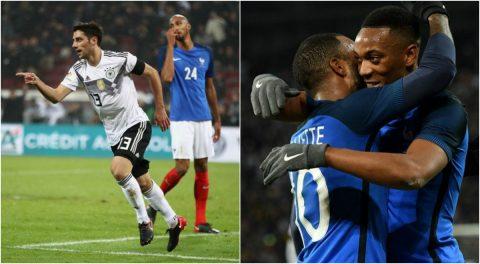 """""""Cánh chim lạ"""" hóa người hùng ở phút 90+3, Đức 'hút chết' trước Pháp sau màn rượt đuổi siêu kịch tính"""