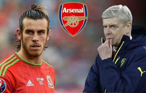 Giáo sư Wenger quyết đấu Mourinho để có được Gareth Bale